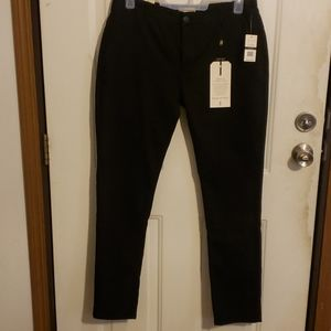 Scott James Slim Fit Black Pants